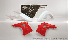 Kit plastiques Racetech couleur origine rouge Gas Gas EC450 FSR 4T  Anner 2011