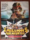 Affiche UN MILLION DE $ PAR MEURTRE The Ransom OLIVER REED 120x160cm *D