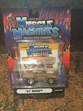1:64 1967 Nova  MUSCLE MACHINES Injected In Brown
