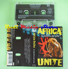 MC AFRICA UNITE In diretta dal sole 1996 netherlands BLACK OUT no cd lp dvd vhs
