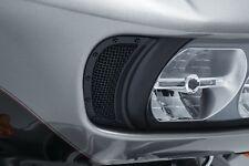Kuryakyn Mesh Headlight Vent Accents for 15-17 Harley Road Glide Black 6519