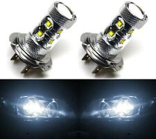 LED 50W H7 White 5000K Two Bulbs Head Light High Beam Replace Show Off Road