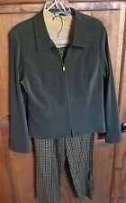 Sag Harbor Women's 3 Piece Size 12 Pants Suit
