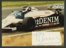 "JEAN-PIERRE JARIER autograph cut on 5"" x 7"" original photo 