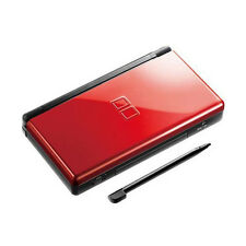 Nintendo DS Lite Console DSL Handheld Video Game System NDSL Rouge & Noir