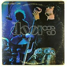 """2x 12"""" LP - The Doors - Absolutely Live - M1214 - washed & cleaned"""