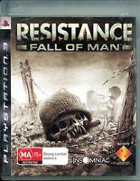 PS3 Resistance of Man,  Manual included