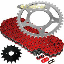 Red O-Ring Drive Chain & Sprockets Kit Fits SUZUKI GS500E GS500F GS500H 1994-10