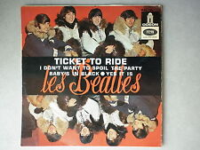 Les Beatles 45Tours EP vinyle Ticket To Ride