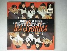 Les Beatles 45Tours EP vinyle Ticket To Ride