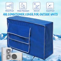Air Conditioner Cover Winter Anti Snow Waterproof Dustproof Outdoor  -) Case /