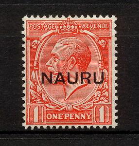 ✔️ (YYBD 010) Nauru 1923 MH Mich 2 II Scott 2c