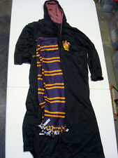 Rubies Harry Potter Gryffindor Robe Child Large Scarf Glasses Costume Halloween