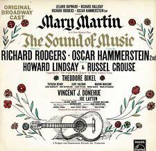 THE SOUND OF MUSIC Original Broadway Cast Collectable Vintage Vinyl LP FDA