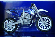 New-Ray Toy Model Yamaha YZF 450 MX bike model - 1/18 scale, Motocross, Diecast