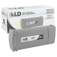 LD Remanufactured Replacement for HP 761 / CM997A HY Matte Black Ink Cartridge
