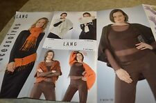 Lang Accessories Knitting Pattern