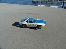 Aurora Afx 43 Blue White Plymouth Road Runner Ho Slot Car Vintage Nos Chassis