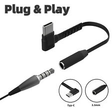 USB-C Type C Adapter Port to 3.5MM Aux Audio Jack Headphone Cable For Samsung