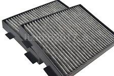 High quality Activated Carbon Air Filter 2pcs For BMW 525i 528i 530i 540i M5 E39