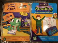 LeapPad LeapFrog Leap 2 Reading : I Know Where My Food Goes & Leap Tries Again