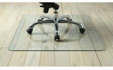 """1 Tempered Glass Chair Mat, 36"""" x 46"""" Clear, Scratch Resistant (975 Supply)"""
