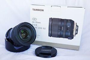 Tamron SP 24-70mm F2.8 G2 Di VC USD – Nikon Mount TN