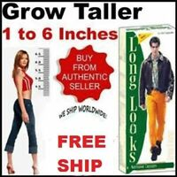Long looks Herbal Increase Height Gain Taller Herbal growing 60 capsules