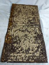 """1pc 24"""" x 12"""" Full Piece Antique Ceiling Tin Vintage Reclaimed Salvage Art Craft"""