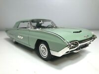 1963 Ford Thunderbird Tbird 1/18 Scale ANSO Die Cast Car model man cave green :