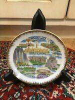 "VINTAGE ESD SOUVENIR CANADA MONTREAL 6"" PLATE ST. JOSEPH OLD FORT ST. HELENS EU"