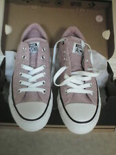 BRAND NEW/BOXED PINK FREEZE SOLD OUT CONVERSE LACE UP TRAINERS WAS £50 NOW £35