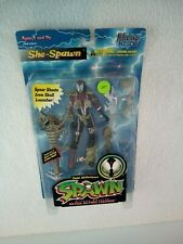 Opened McFarlane Toys Spawn Deluxe Ultra-Action Figures She-Spawn #10132 1996