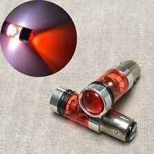 1157 7528 BAY15D 1142 3496 P21/5W RED XBD LED Bulb Brake Light Lamp AW