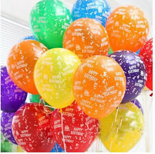 20pcs Happy Birthday Latex Balloon  Birthday Party Decoration Kids Party Supplie