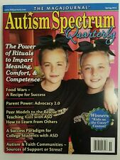 Autism Spectrum Quarterly Rituals Peer Models ASD Spring 2015 FREE SHIPPING JB