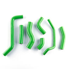 For Kawasaki KX450F KXF450 2009-2014 Green Reinforced silicone radiator hose kit