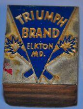 Triumph Brand Fireworks Print Block Elkton Md