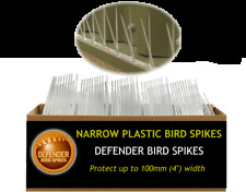 Bird Spikes for Small Ledges and Sills - in convenient packs for DIY