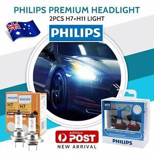 PHILIPS H7 H11/H8/H9 Halogen Light Globe For Mitsubishi Outlander 2014-2018 au