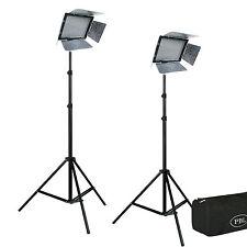 JensenBest Photo Video Studio LED YN300III Two Light Kit With Batteries