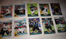 JACKSONVILLE JAGUARS TWO COMPLETE TEAM SETS, 2013 TOPPS & 2011 SCORE FOOTBALL