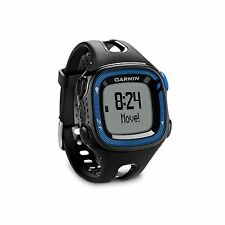 Garmin Forerunner 15 GPS Fitness Sport Watch Large Black/Blue 010-01241-00 NEW!