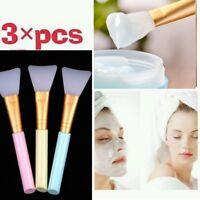 3×Professional Face Facial Mud Mask Mixing Brush Skin Care Beauty Makeup Tool Uk