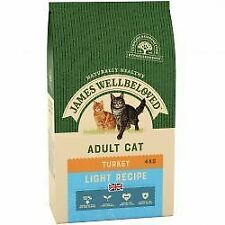 JAMES WELLBELOVED Adult Cat Light Turkey - 4kg - 431635