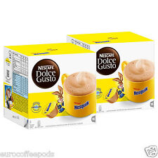 Dolce Gusto Coffee Nesquik, 2 x Boxes  (32 capsules) 32 Servings