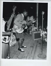 ERNEST WITHERS PHOTO 8X10 AFRICAN AMERICAN ARTIST PHOTOGRAPHER B.B. KING