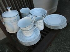 "Vintage 19 Piece Noritake ""Lorraine"" Tea / Coffee Service Set - Mint Condition"
