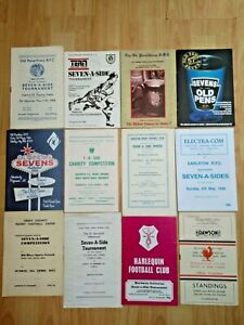 Rugby Union Sevens Programmes 1948 - 2009