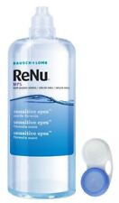 Bausch Lomb Renu Multi Purpose Contact Eye Solution Cleaner 240ml Lens Case